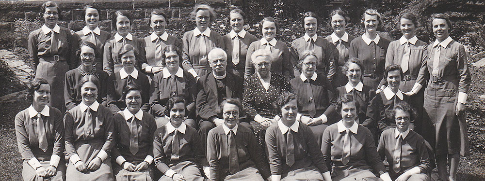Slideshow: Class photo from Deaconess College in Ilkley, Yorkshire