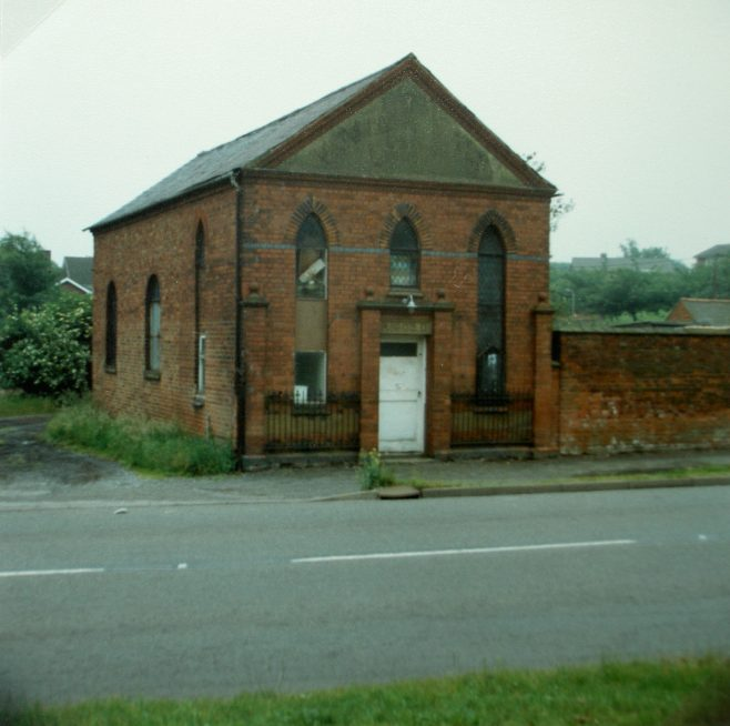 former Heather Methodist chapel, Pisca Lane | Keith Guyler 1988