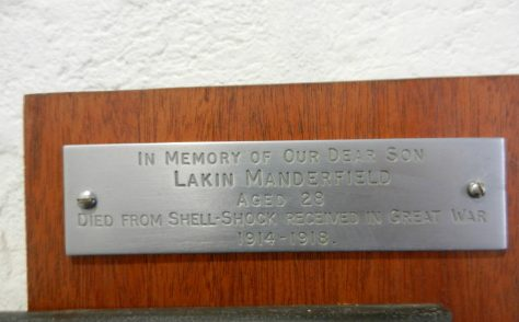 Shepshed, Field Street memorial plaques