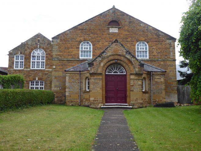Kingsthorpe Methodist & Baptist Church, facade, 14.06.2019