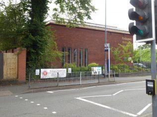 1 Erdington Methodist Chapel, north front, 8.8.2019
