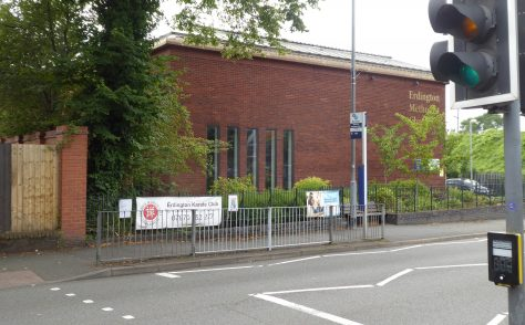 Birmingham, Erdington, Station Street, Methodist Church Centre, Warwickshire