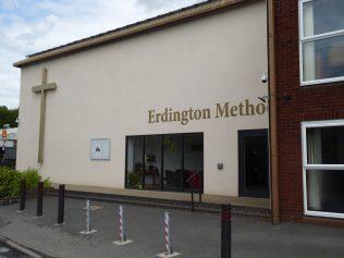 3 Erdington Methodist Chapel, west side, 8.8.2019