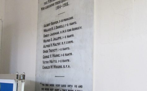 Cowes Methodist Church War Memorial