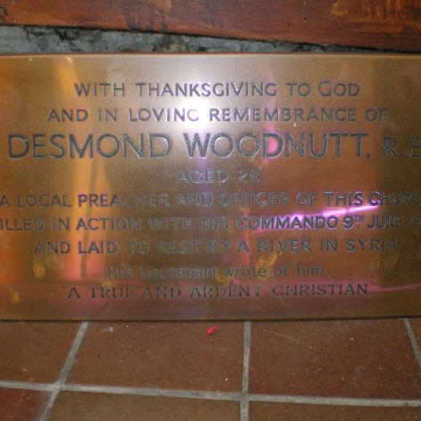 Ventnor Methodist Church War Memorials