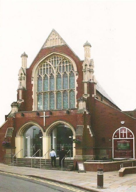 2012 Lichfield Methodist Church new frontage