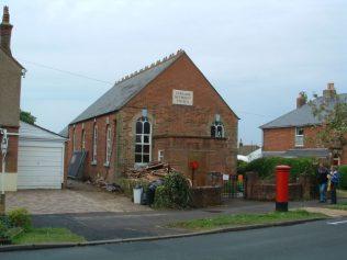 Gurnard Methodist Chapel - closed