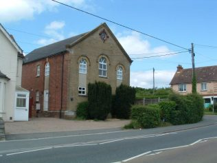 Mark's Corner Methodist Chapel - now a private house