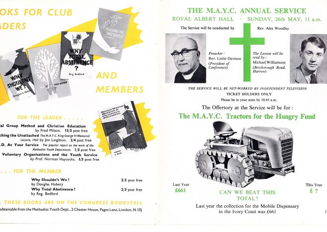 MAYC Booklet May 1963