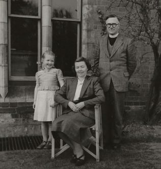 Rev. Philip S. Watson and family - Handsworth Theological College                                                                                                          C