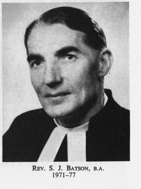 Rev Samuel John Batson from the Southampton Circuit records