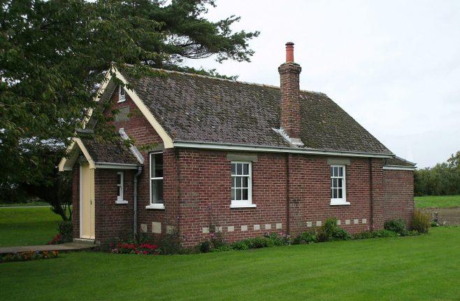 Lutton Marsh Methodist Chapel 1936   David Secker