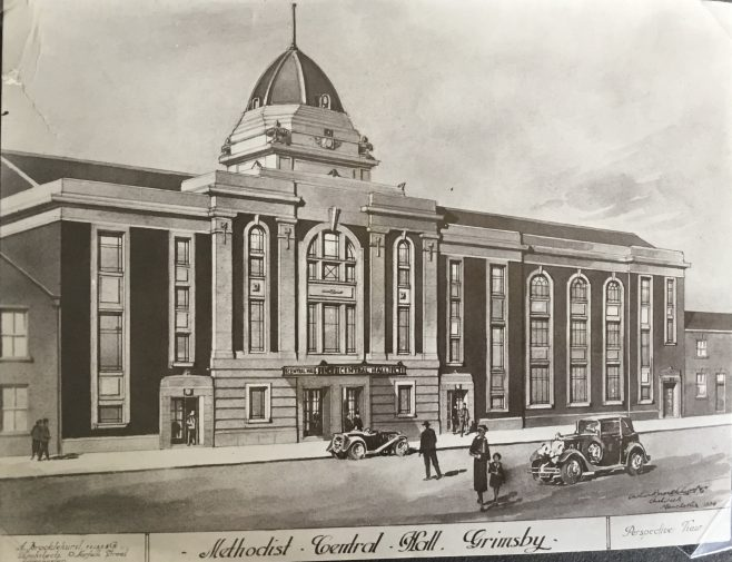 Artists impression of Methodist Central Hall, Grimsby