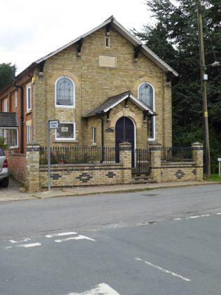 Thurlby UMFC Chapel, facade, 11.09.2020
