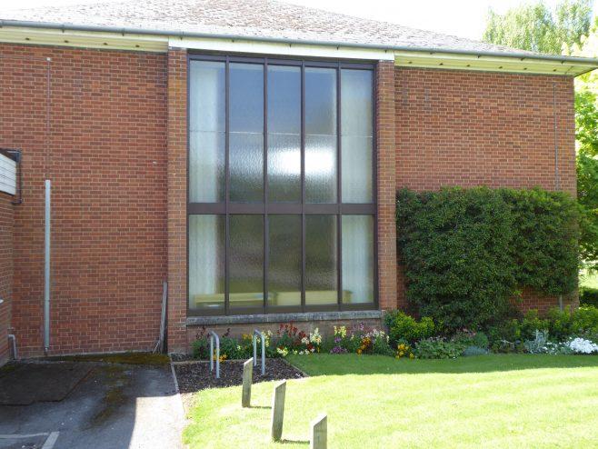 2 Daventry Methodist Church, east window, 10.5.2019, | GWO