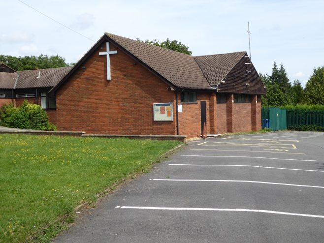 2 Duston, St  Andrew's Methodist Chapel, southern end, 3.8.2019