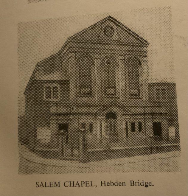 Salem Methodist New Connexion church  Hebden Bridge Yorkshire
