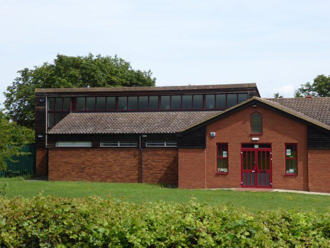 3 Duston, St  Andrew's Methodist Chapel, northern end, 3.8.2019