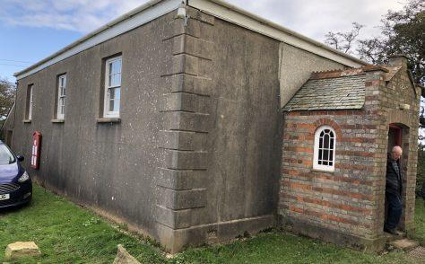 Baldhu,'Three Eyes' former Bible Christian Chapel Kerley Downs