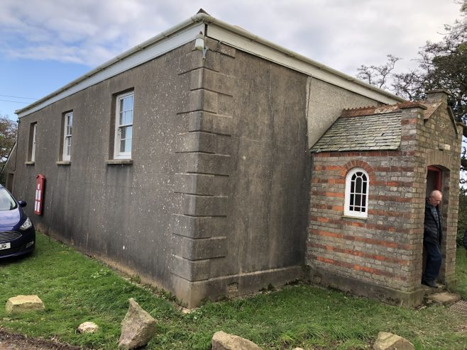 'Three Eyes' former Bible Christian Chapel, Kerley, Baldhu
