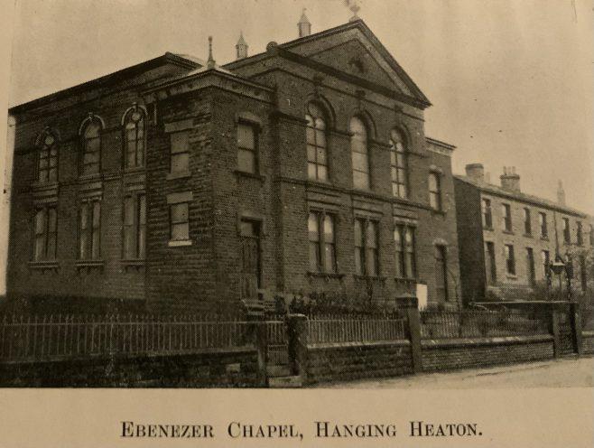 Ebenezer, Hanging Heaton Methodist New Connexion church Batley Yorkshire