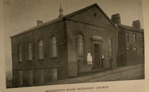 Boothtown Road Methodist New Connexion church, later United Methodist church Halifax Yorkshire