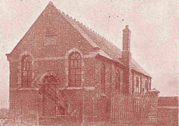 The 1910 chapel