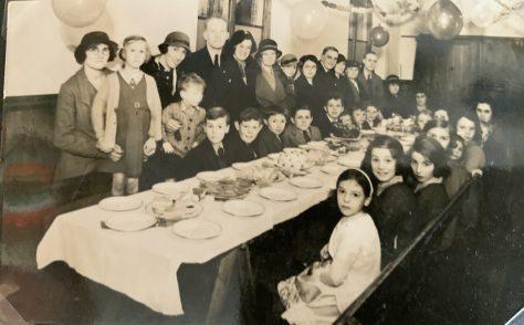 A 1930s Sunday School Christmas Tea