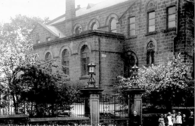 Farsley Methodist Church Sunday School and Day School. This is now the home of Farsley Community Church