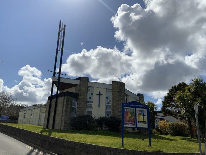 Hayle Methodist Church Cornwall