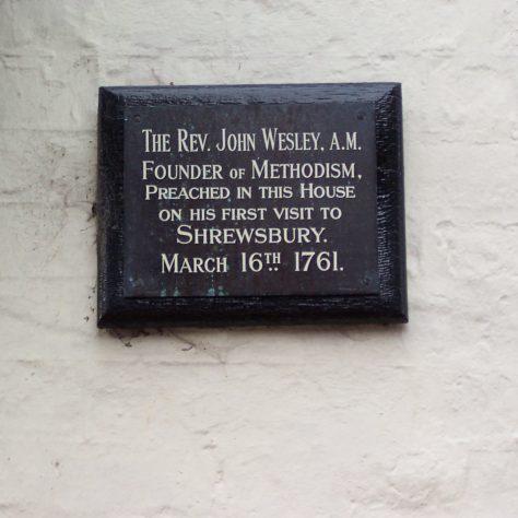 John Wesley - Preaching in Shrewsbury, Shropshire | Ann Fox