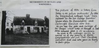 The first Wesleyan Chapel | Click on the picture to see it full size