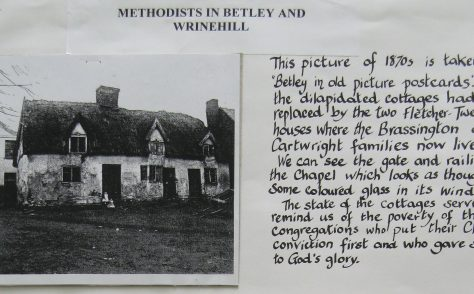 Betley Methodist Chapel, Staffordshire