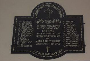 Shadoxhurst Chapel, Kent