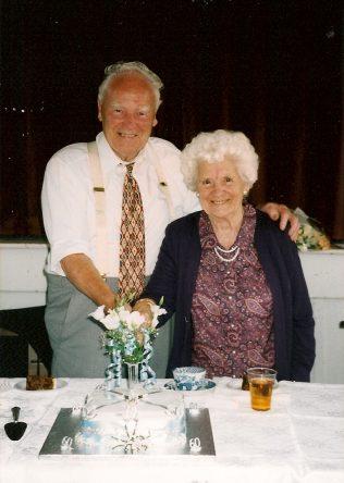 Rex & Hannah, 60th Wedding Anniversary 1999