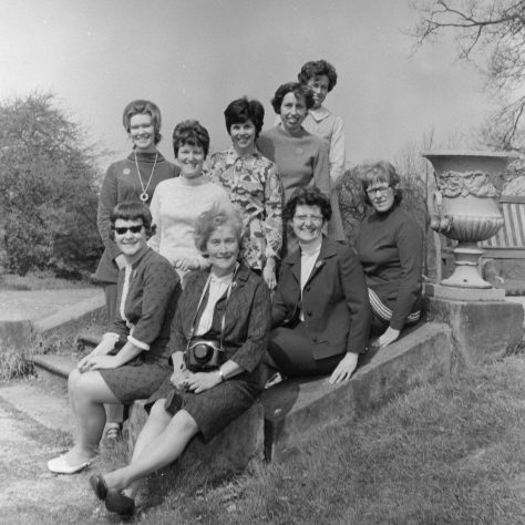 A7 Swanwick. Beatrice Cloke, June Lunn, sister Clare Powers, Margaret Horner, Elizabeth Kissack, Jennifer Woolf,
