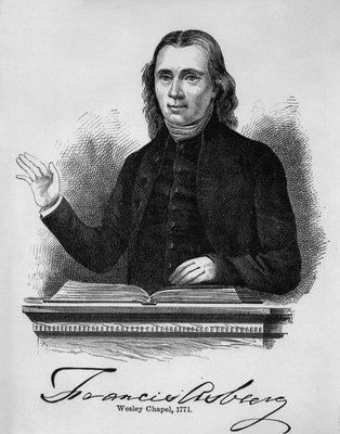 Francis Asbury 1773 New York
