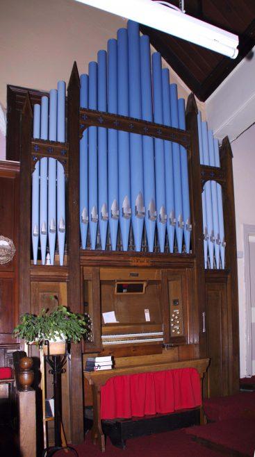 Auckland Park's Nelson Organ | Alan Bailey