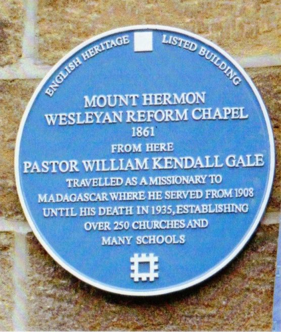 Rev William Kendall Gale