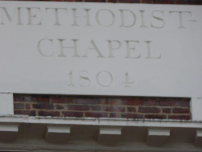 Carver Street, Methodist Chapel, plaque, 16.6.2018 | G W Oxley
