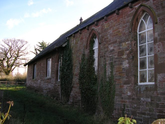 Cumwhinton Free Methodist Chapel from northeast, 10.2.2016 | G W Oxley