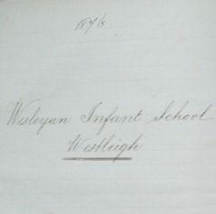 Westleigh Methodist Primary School Log Books
