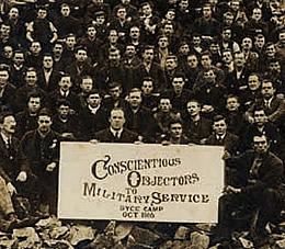 Comments from family members of Conscientious Objectors