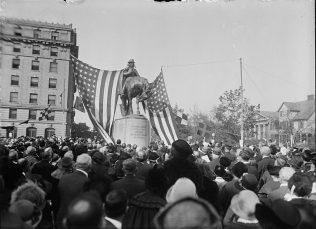 Francis Asbury Statue Dedication | Public Domain Library of Congress USA