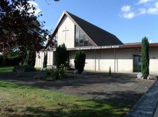 Harold Wood Methodist 1962 chapel