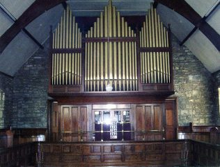 Hawes Methodist Church memorial organ