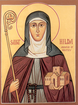 Hilda Abbess of Whitby