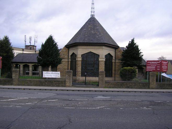 Huddersfield, Wakefield Road, Moldgreen  St Paul's Methodist Church,  28.02.2017   G W Oxley