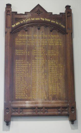 Wesleyan memorial (click to enlarge)   Katie B