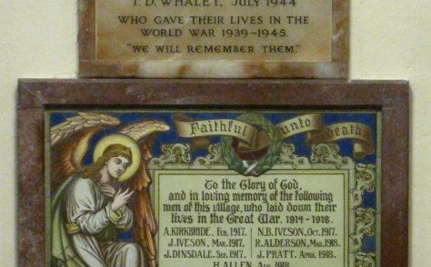 Gayle Chapel War Memorials